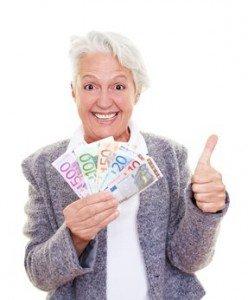 Einen Kredit für Rentner über 70 bekommen